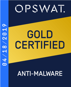 OPSWAT – Gold certified Anti-malware