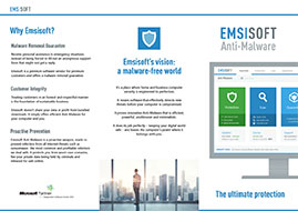 Emsisoft Anti-Malware Flyer