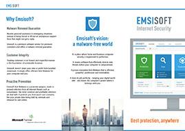 Emsisoft Internet Security Flyer