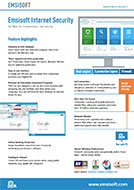 Emsisoft Internet Security Salessheet