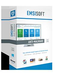 Emsisoft Anti-Malware Boxshot