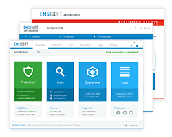 Emsisoft Anti-Malware Screenshots EN