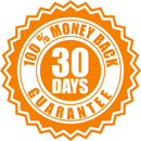 30 days - 100% money back guarantee