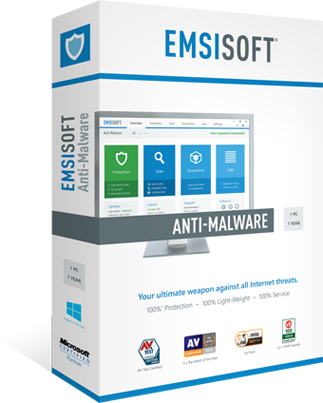 限时免费 Emsisoft Anti-Malware 反病毒软件一年授权
